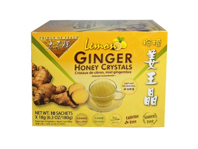 medium prince of peace lemon ginger honey crystals 63 oz bSLshLX8W