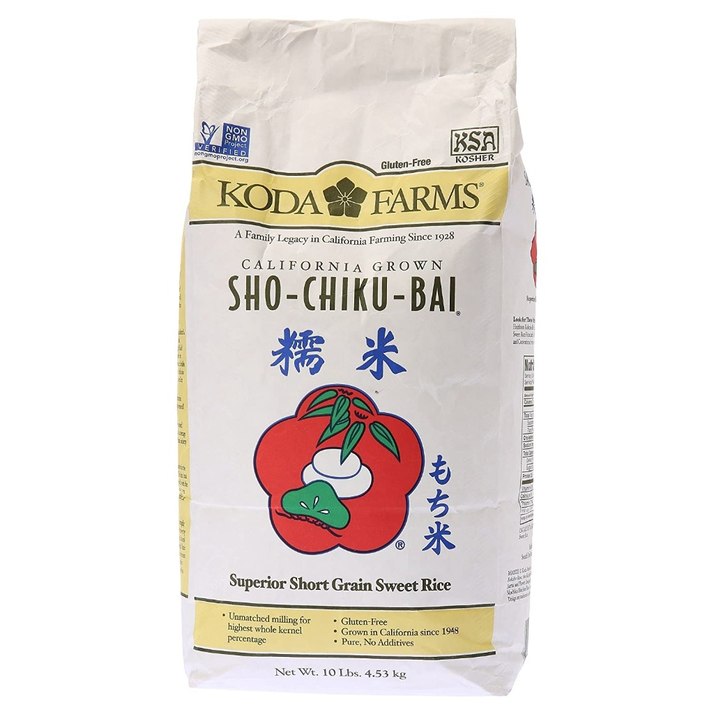 KODA FARMS Short Grain Sweet Rice 10 Lb