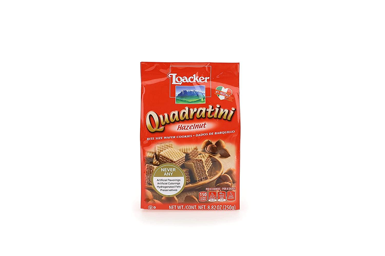 medium loacker quadratini hazelnut wafer cookies 882 oz EoNhSa65Y