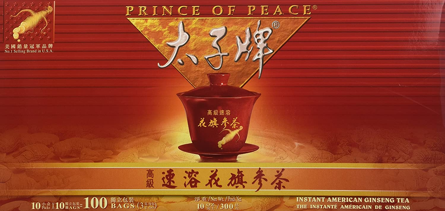PRINCE OF PEACE Instant American Ginseng Tea 10 OZ