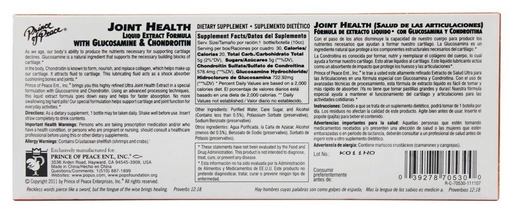 medium prince of peace ultra strength joint health liquid 102 fl oz KSRZSPy7RW