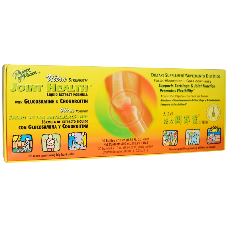 PRINCE OF PEACE Ultra Strength Joint Health Liquid 10.2 FL OZ