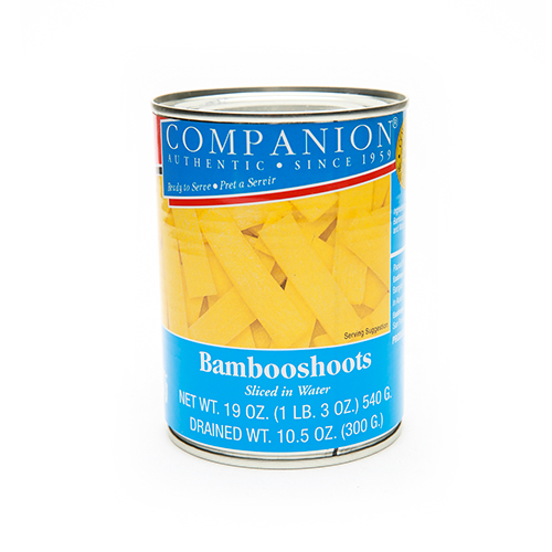 COMPANION Bamboo Shoots Sliced In Water 19 OZ