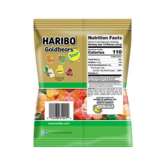 medium haribo goldbears gummi candy 45 oz odf2vqzdo