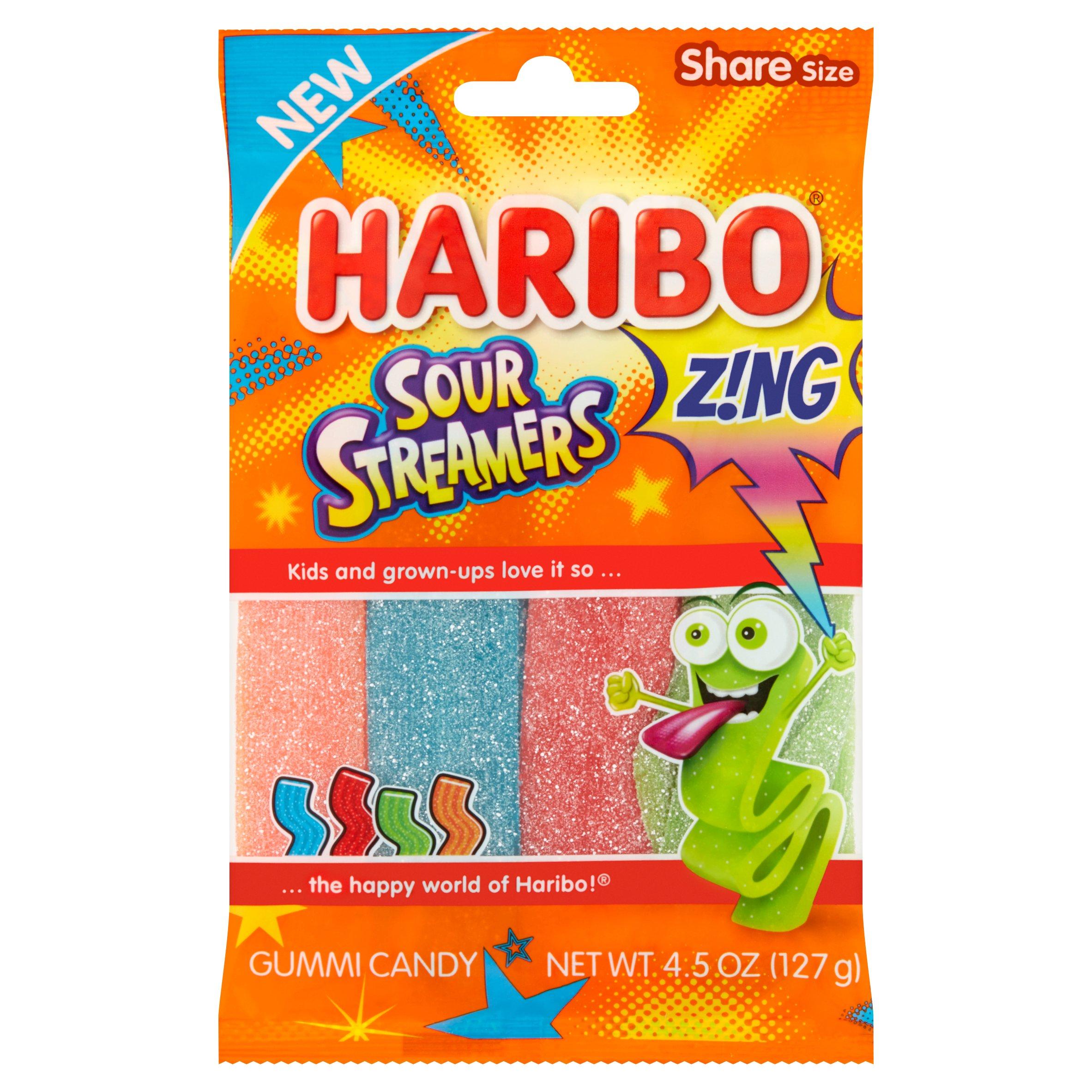 medium haribo gummy candy sour streamer 45 oz   WgXJCeVE