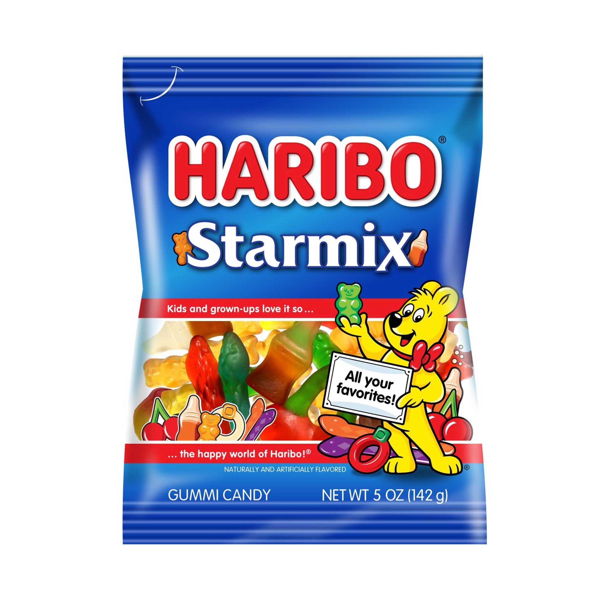 medium haribo gummy candy starmix 5 oz  pwWE8aTDj