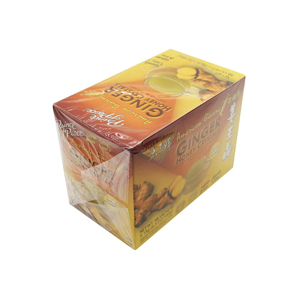 medium prince of peace american ginseng ginger honey crystals 63 oz 5hEl3idFwg