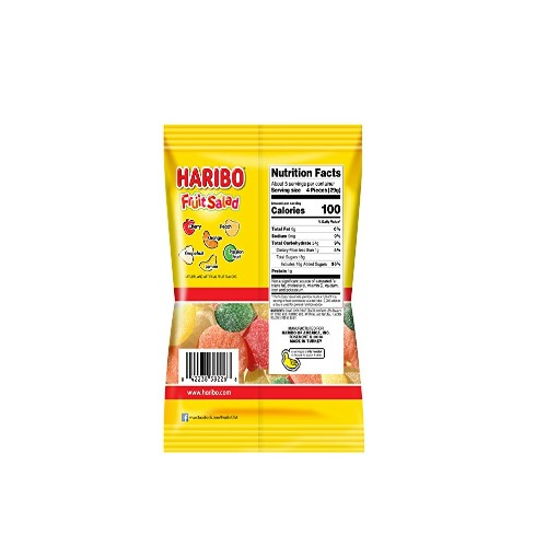 medium haribo gummy candy fruit salad 5 oz L43ZQO4n8