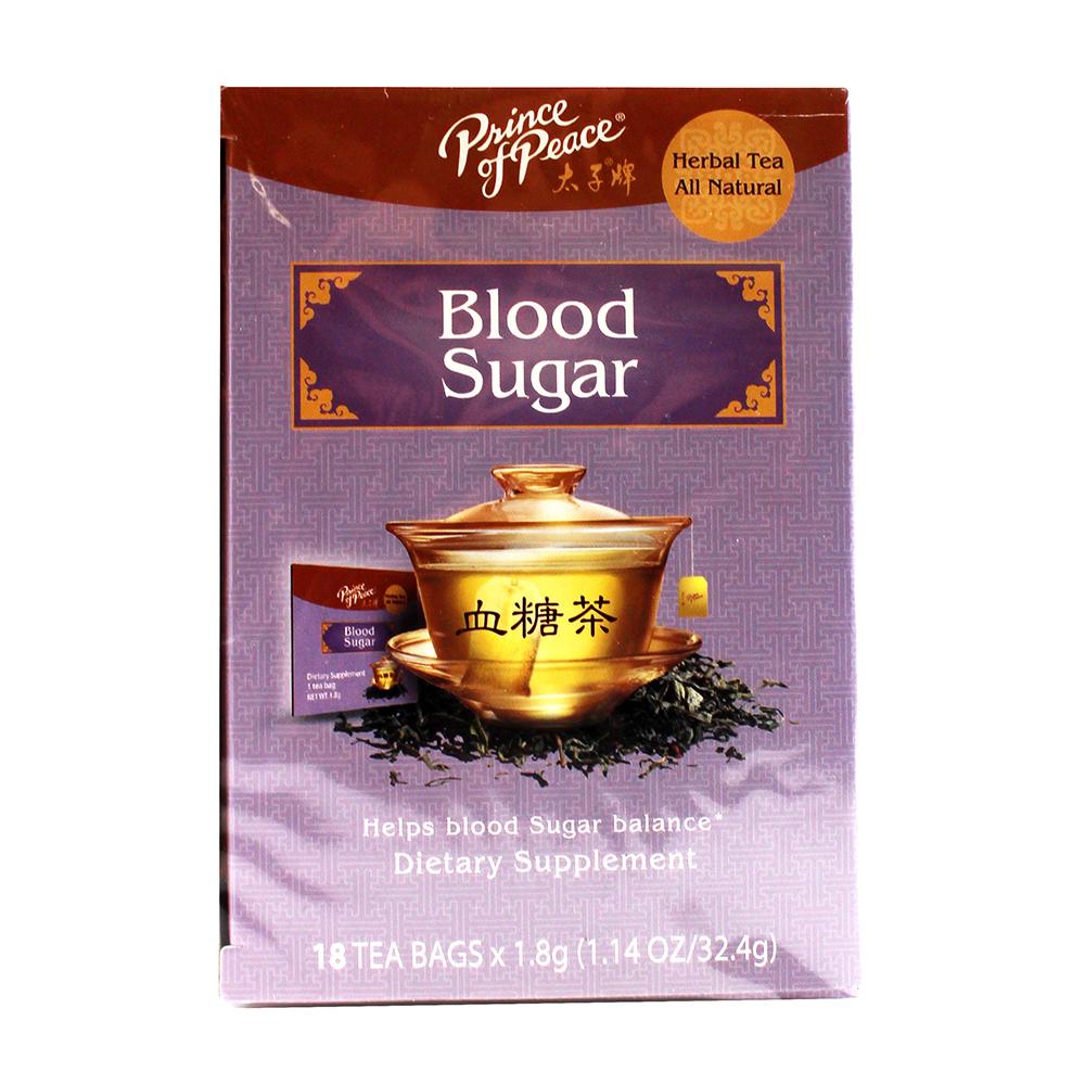 PRICE OF PEACE Herbal Tea Blood Sugar 18 Pack