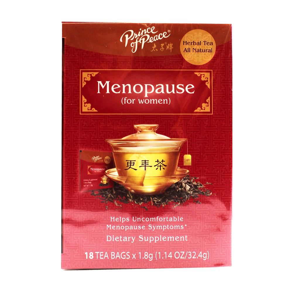 PRICE OF PEACE Herbal Tea Menopause For Women 18 Pack