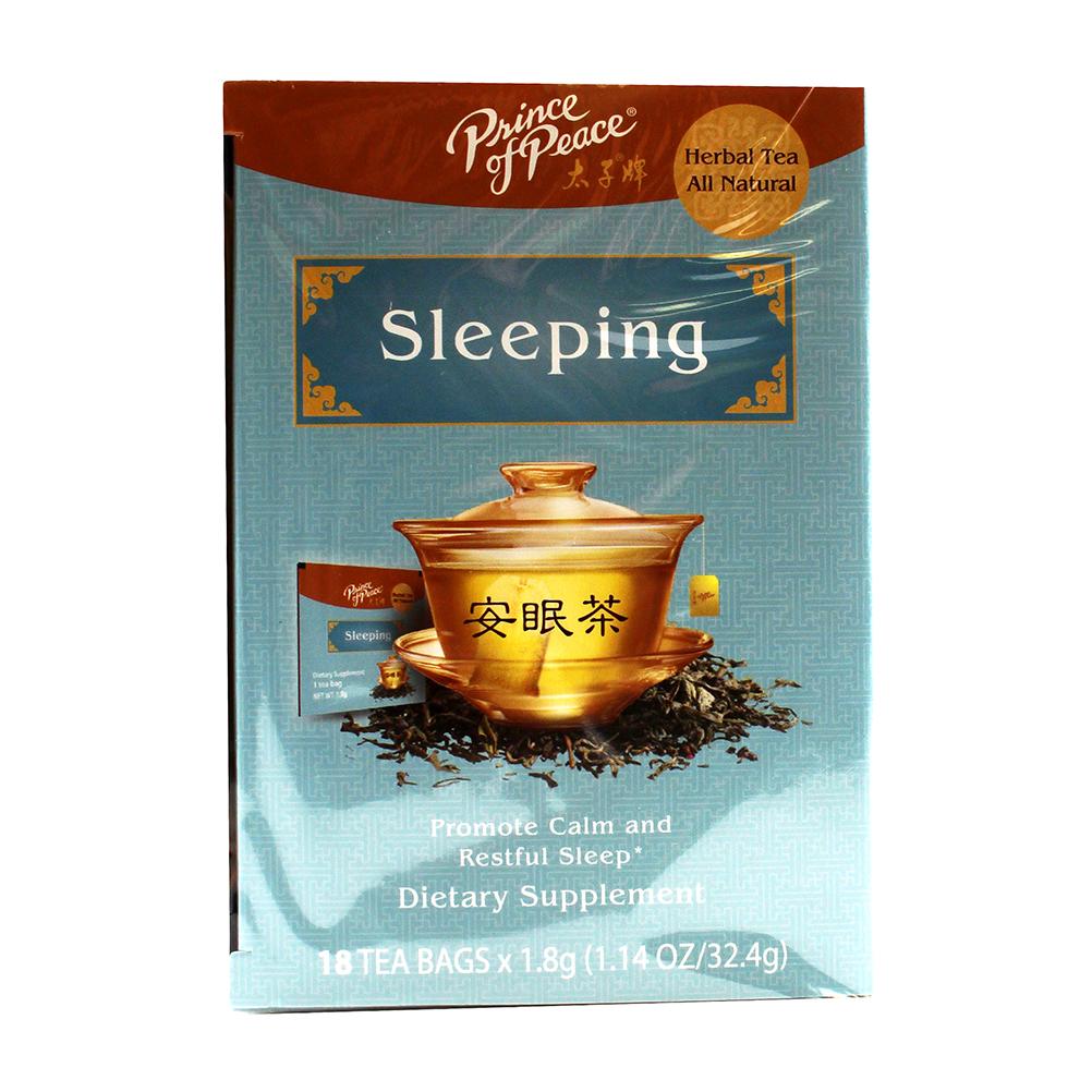 PRICE OF PEACE Herbal Tea Sleeping 18 Pack