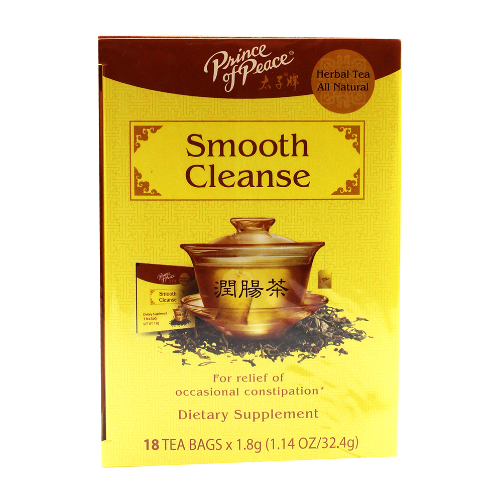PRICE OF PEACE Herbal Tea Smooth Cleanse 18 Pack