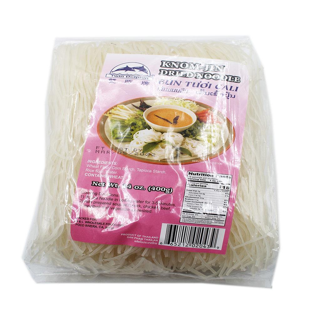 medium twin dolphin knom jin dried noodle bun tuoi cali 14 oz tzwqDdo93