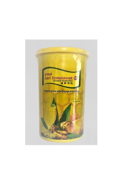 medium sari temulawak 85 instant turmeric drink with orange and honey 400