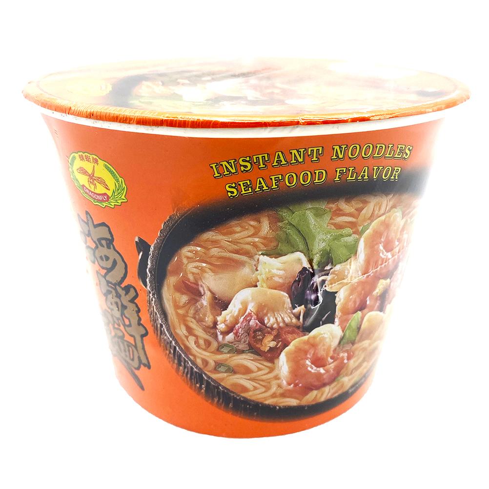 DRAGONFLY Instant Noodle Seafood Flavor 4.23 Oz