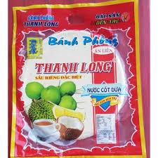 THANH LONG  Banh Trang Sau Rieng Dac Biet 100 Gr