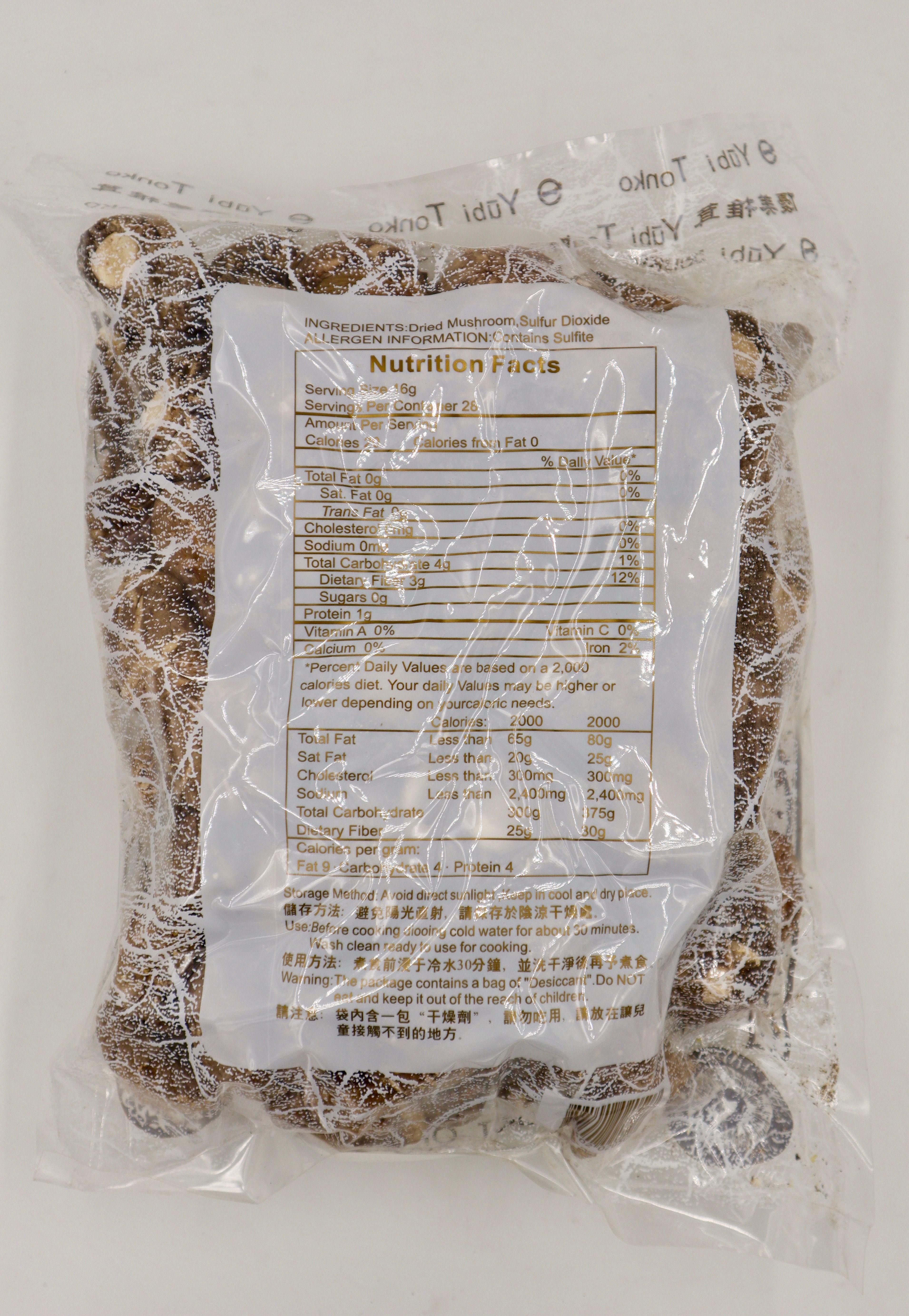 YUBI TONKO Dried Mushroom 16 OZ