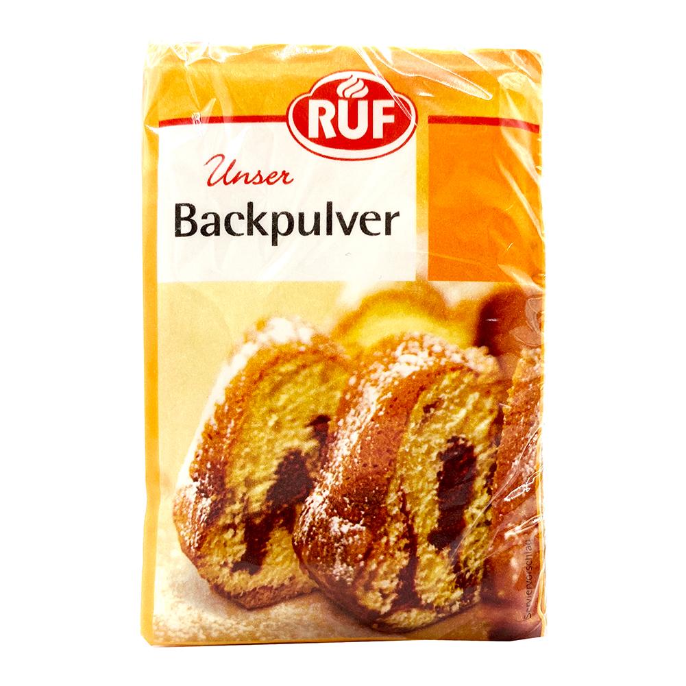 RUF Baking Powder 0.52 Oz of 6 Packs
