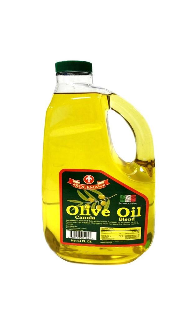 ROCKMAN Olive Oil Canola Blend 64 FL OZ