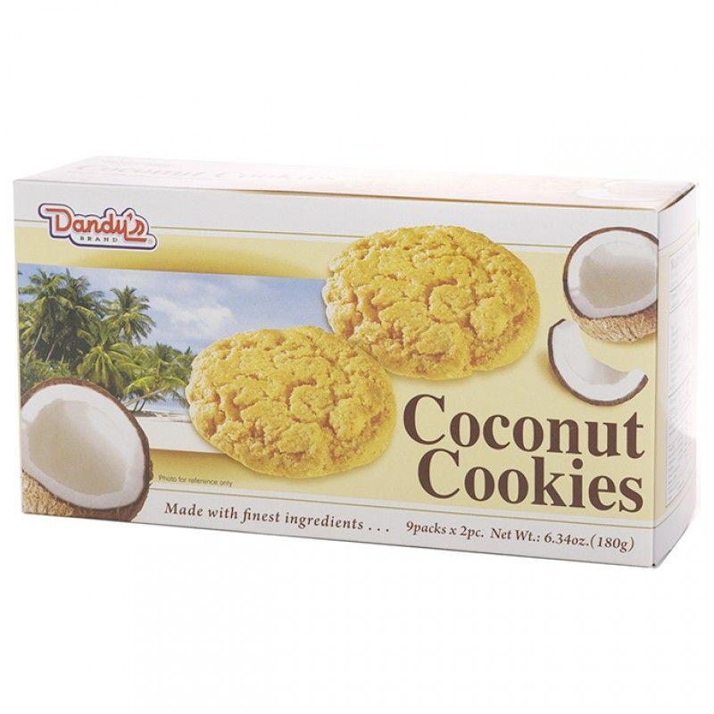 DANDY'S Coconut Cookies 6.34 oz