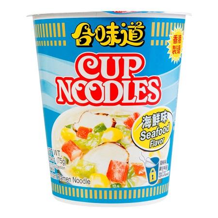medium nissin cup instant ramen noodle seafood flavor 264 oz zkz96 NWS