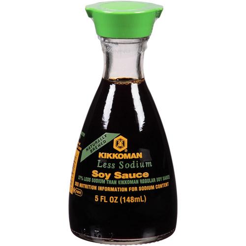 medium kikkoman soy sauce less sodium 5 fl oz fO6C1VCy1