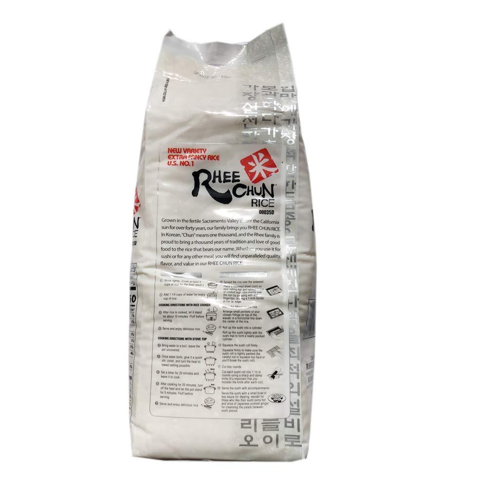 medium rhee chun rice 5 lbs tJeBbb47iJ