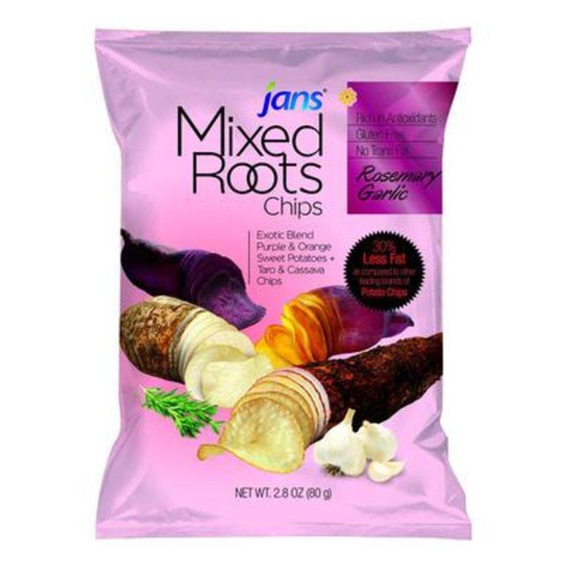 JANS  Mixed Roots Chip Rosemary Garlic 2.8 Oz