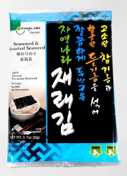 medium jayone seasoned roasted seaweed premium size 07 oz RNfkSPUVj