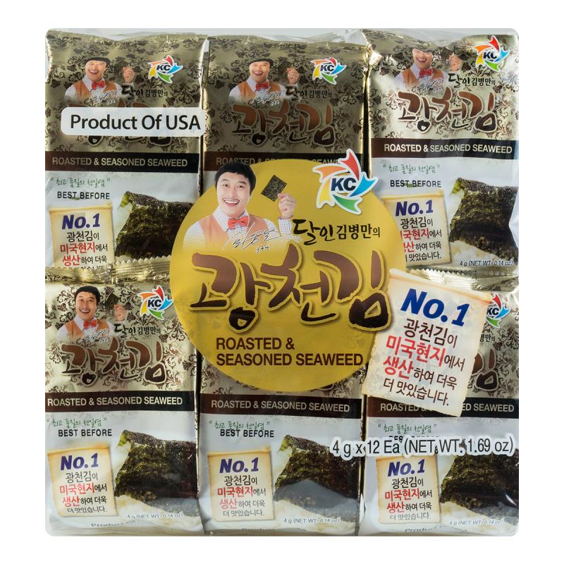 medium kc roasted seasoned seaweed 12 packs lSwe Z5SL