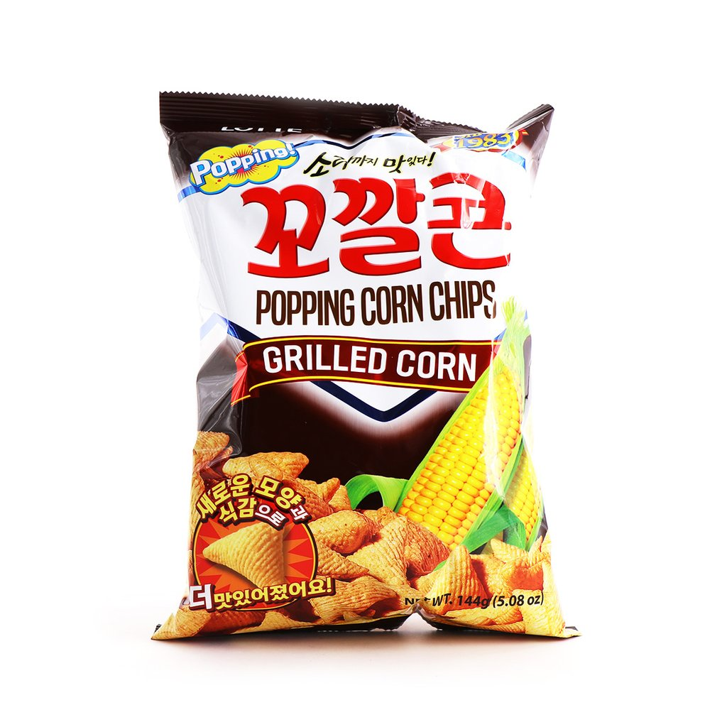 medium lotte popping corn chips grilled flv 508 oz vLI3gnM5Z
