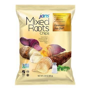 JANS  Mixed Roots Chip Coriander Sea Salt 2.8 Oz