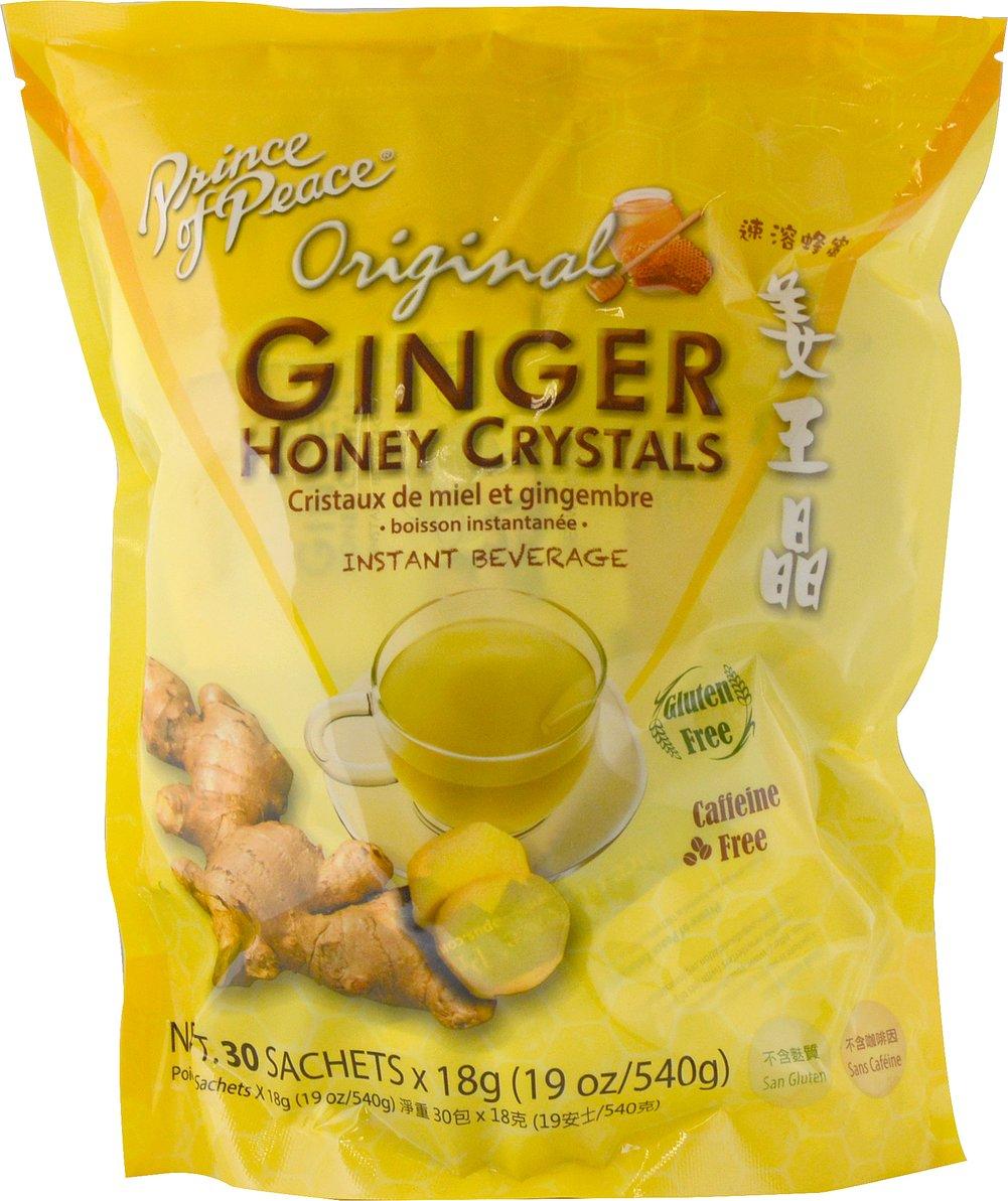medium prince of peace original ginger honey crystals 19 oz w4E8Q8n2