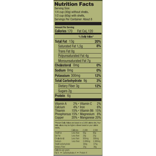 SETTON FRAMS Roasted No Salt Pistachios 1 LB