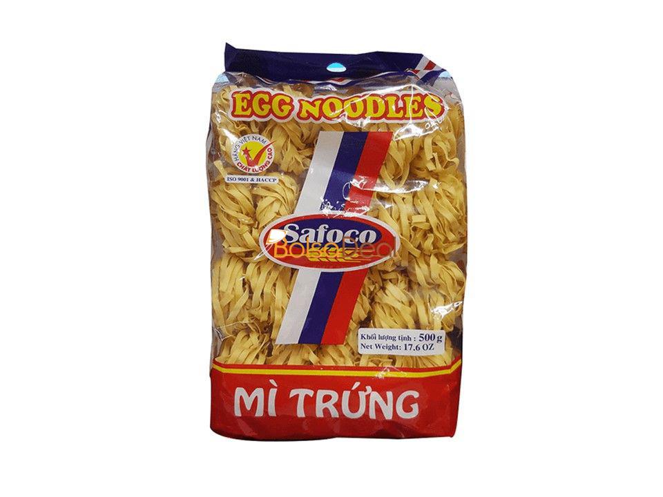 SAFOCO Egg Noodles Thick String 500 Gr