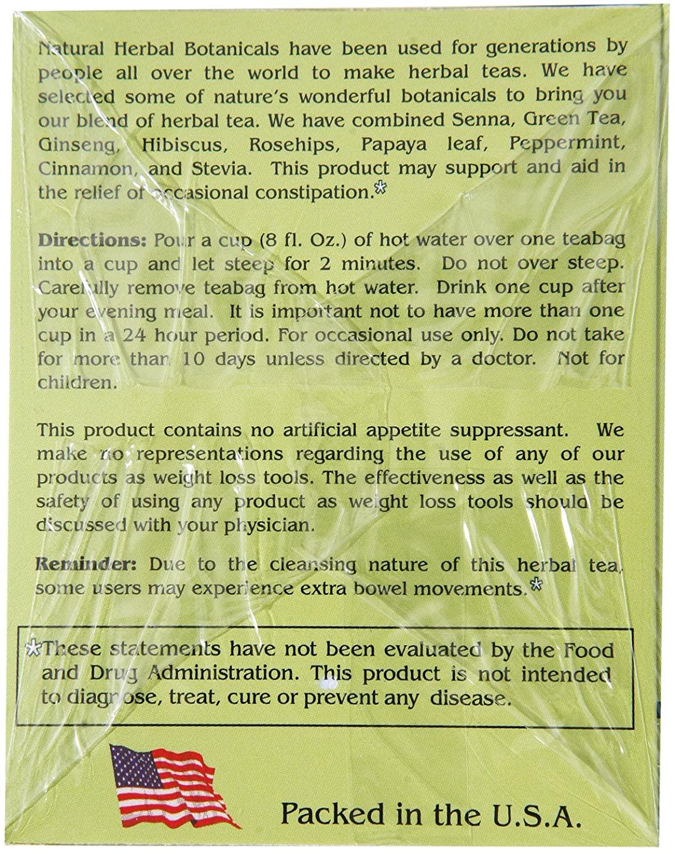 original tea pot panax cleanse ginseng herb tea delight 20 tea bags 66zj7nQsTb