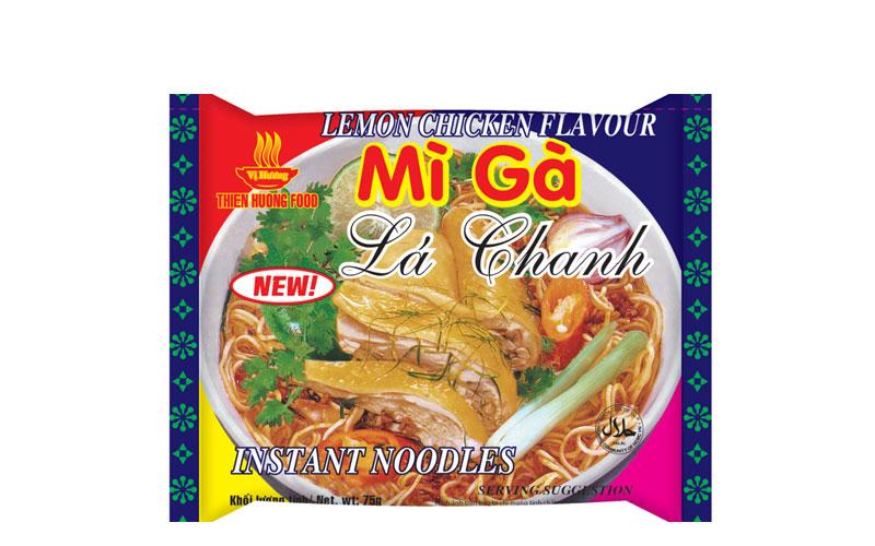 Vi Huong Lemon Chicken Noddle/ Mi Ga La Chanh 2.82 Oz