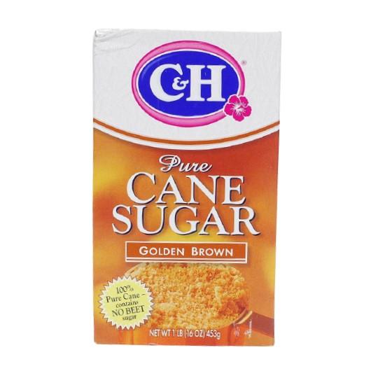 C&H Pure Cane Sugar Golden Brown 1 LB
