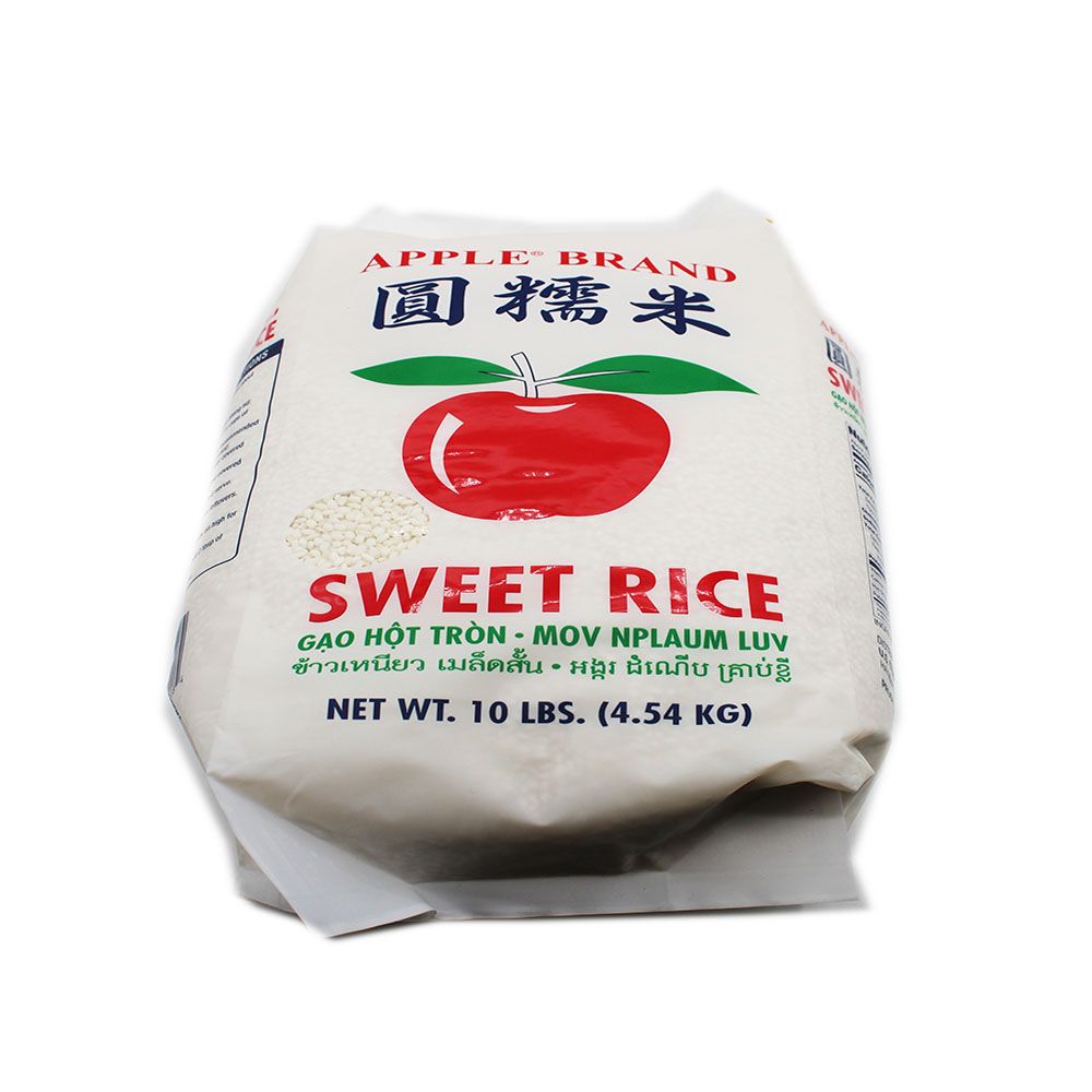 APPLE BRAND Sweet Rice/Gao Hot Tron 10Lbs
