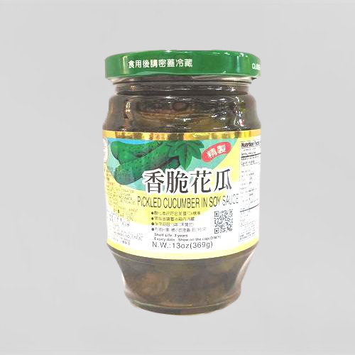 HWA NAN Pickled Cucumber In Soy Sauce 13 OZ