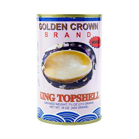 GOLDEN CROWN King Topshell in Canned 16 OZ