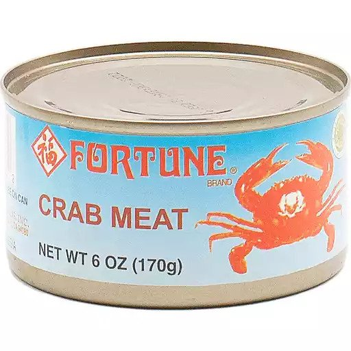 FORTUNE Crab Meat 6 OZ