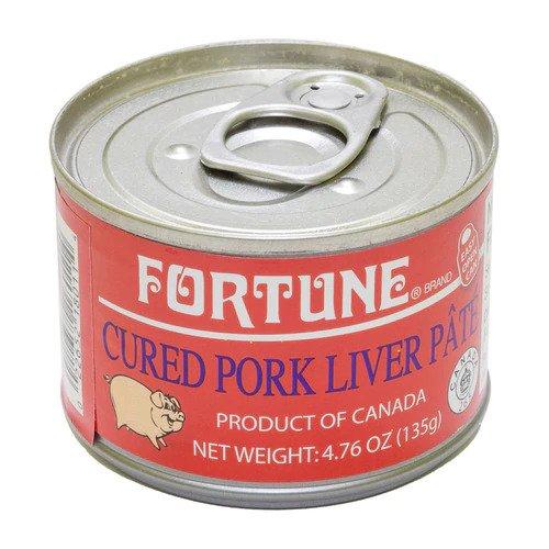 Fortune Cured Pork Liver Pate 4.76 Oz