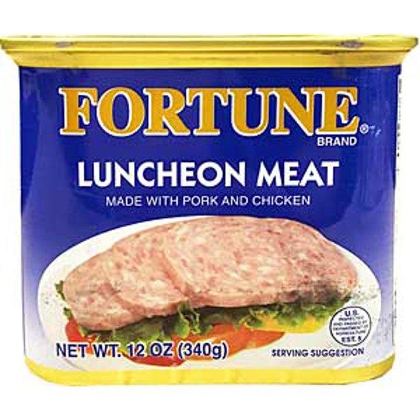 Fortune Luncheon Meat W/ Pork&Chicken 12 Oz