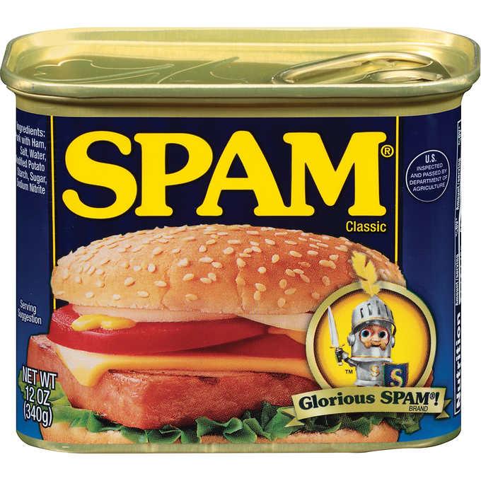 Glorious Spam Clasic Spam 12 Oz