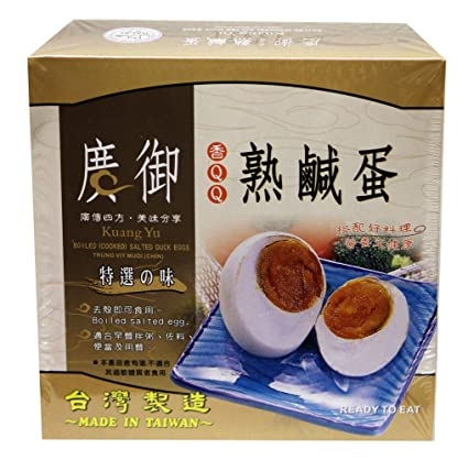 Kuang Yu Perserved Duck Egg 6-Pk