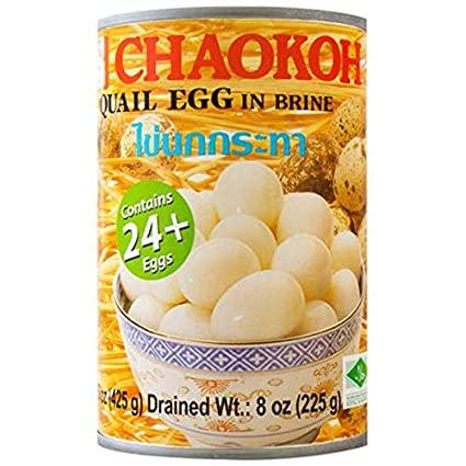 Chaokoh Quial Eggs 15 Oz
