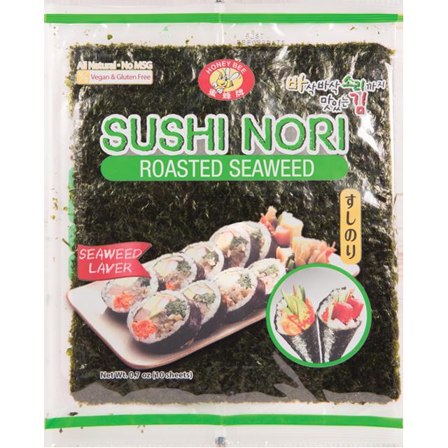 HONEY BEE Sushi Nori Roasted Seaweed 0.7 OZ