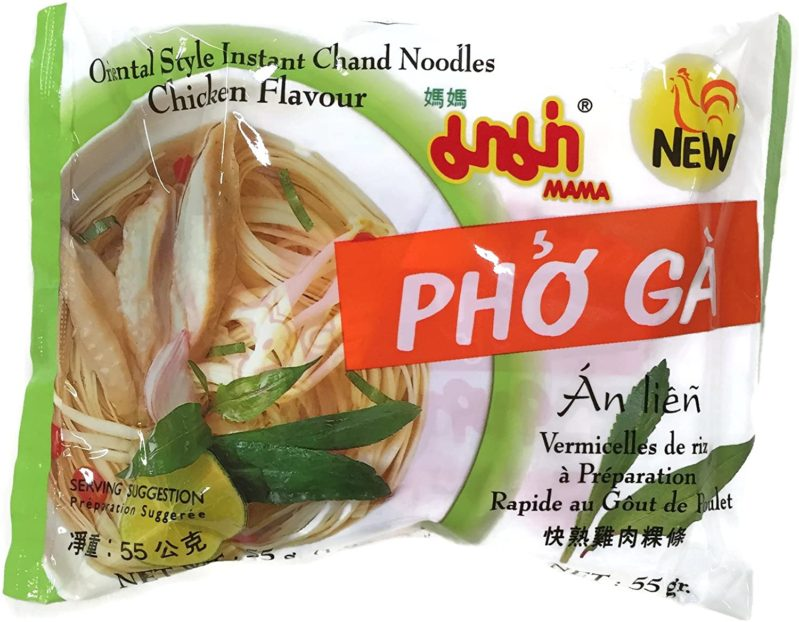 Mama Instant Chand Noodles Chicken Flavor/ Pho Ga 55 Gr