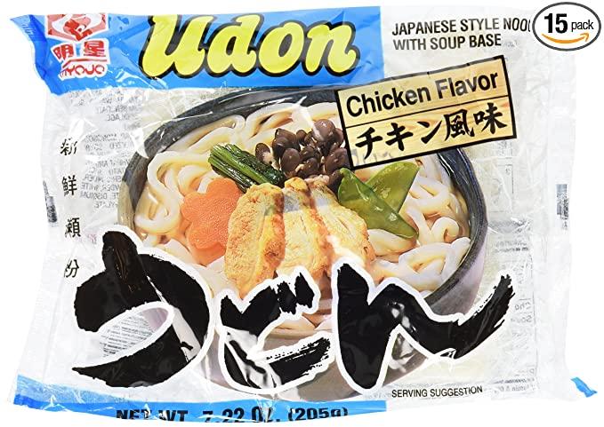 Myojo Udon W/Soup Chkn *Disc 7.22 Oz